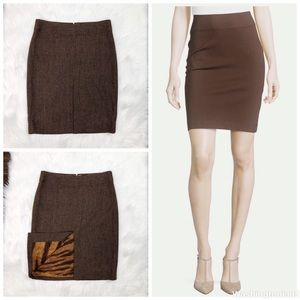 Dolce & Gabbana Gingham Pencil Skirt US 8 / EUR 44